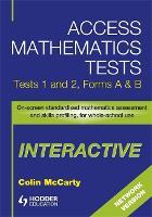 Access Mathematics Tests Interactive (AMTi) 1 & 2 Network CD-ROM (CD-Audio)