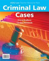 AS/A2 Criminal Law Cases Teacher Resource Pack (Spiral bound)
