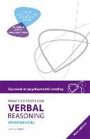 Succeed at Psychometric Testing: Practice Tests for Verbal Reasoning Advanced 2nd Edition (Paperback)