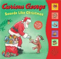 Curious George Sounds Like Christmas Sound Book (Board book)