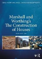 Marshall and Worthing's The Construction of Houses (Paperback)