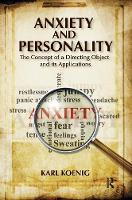 Anxiety and Personality: The Concept of a Directing Object and its Applications (Hardback)
