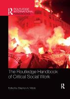 The Routledge Handbook of Critical Social Work (Paperback)