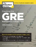 Cracking The Gre Mathematics Subject Test, 4th Edition (Paperback)