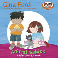 Animal Babies: A Lift-the-flap Book (Board book)
