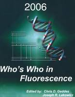 Who's Who in Fluorescence 2006 (Paperback)