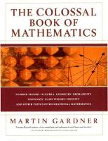 The Colossal Book of Mathematics: Classic Puzzles, Paradoxes, and Problems (Hardback)