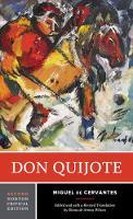 Don Quijote - Norton Critical Editions (Paperback)