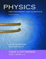Student Activity Workbook: for Physics for Engineers and Scientists, Third Edition (Paperback)