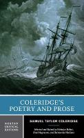 Coleridge's Poetry and Prose - Norton Critical Editions (Paperback)
