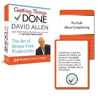 Getting Things Done - 64 Productivity Cards