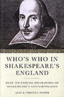 Who's Who in Shakespeare's England (Paperback)
