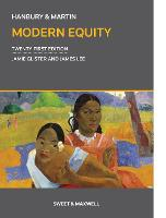 Hanbury & Martin: Modern Equity