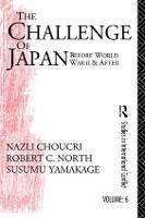 Challenge of Japan Before World War II (Hardback)