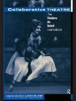 Collaborative Theatre: Le Theatre du Soleil (Paperback)