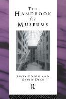 Handbook for Museums - Heritage: Care-Preservation-Management (Hardback)