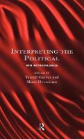 Interpreting the Political: New Methodologies (Hardback)