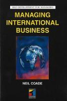 Managing International Business