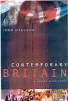 Contemporary Britain: A Survey With Texts (Paperback)