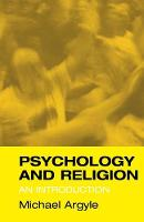 Psychology and Religion: An Introduction (Paperback)