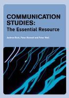 Communication Studies: The Essential Resource - Essentials (Paperback)
