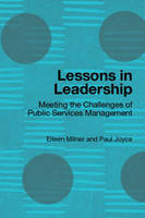 Lessons in Leadership: Meeting the Challenges of Public Service Management (Paperback)