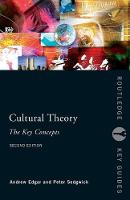 Cultural Theory: The Key Concepts - Routledge Key Guides (Paperback)