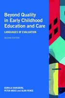 Beyond Quality in Early Childhood Education and Care: Languages of Evaluation (Paperback)