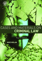 Cases & Materials on Criminal Law: Fourth Edition (Paperback)