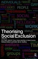 Theorising Social Exclusion (Paperback)