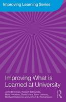 Improving What is Learned at University: An Exploration of the Social and Organisational Diversity of University Education - Improving Learning (Paperback)