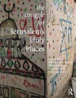 The Struggle for Jerusalem's Holy Places (Paperback)