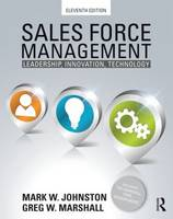 Sales Force Management: Leadership, Innovation, Technology - 11th edition (Paperback)
