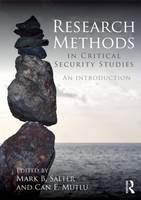 Research Methods in Critical Security Studies: An Introduction (Paperback)