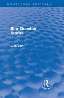 Star Chamber Stories - Routledge Revivals (Hardback)