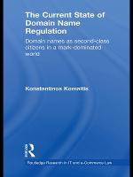 The Current State of Domain Name Regulation