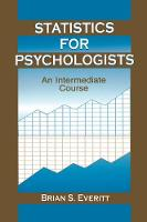 Statistics for Psychologists: An Intermediate Course (Paperback)