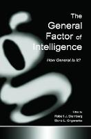 The General Factor of Intelligence: How General Is It? (Paperback)