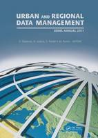 Urban and Regional Data Management: UDMS Annual 2011 (Hardback)
