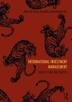 International Investment Management: Theory, ethics and practice (Paperback)