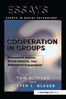 Cooperation in Groups: Procedural Justice, Social Identity, and Behavioral Engagement - Essays in Social Psychology (Paperback)