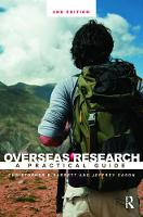 Overseas Research II: A Practical Guide (Paperback)