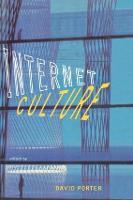 Internet Culture (Paperback)