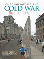 Chronology of the Cold War: 1917-1992 (Hardback)