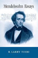 Mendelssohn Essays (Hardback)