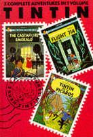 "Adventures of Tintin: ""Castafiore Emerald"", ""Flight 714"" and ""Tintin and the Picaros"" v. 7"
