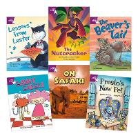 Learn at Home:Star Reading Purple Level Pack (5 fiction and 1 non-fiction book) (Paperback)