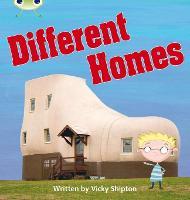 Different Homes: Bug Club Phonics Bug Non-fiction Set 25 Different Homes Non-Fiction Set 25 - Phonics Bug (Paperback)