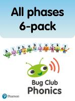 New Phonics Bug and Alphablocks All Phases 6-pack - Phonics Bug (Paperback)