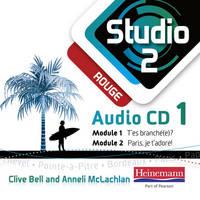 Studio 2 Rouge Audio CD A (11-14 French) - Studio 11-14 French (CD-Audio)